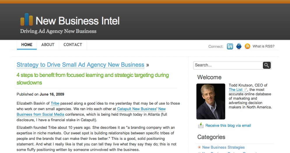 New Business Intel