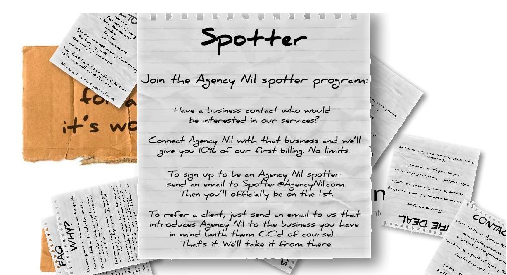Agency Nil Spotter Program
